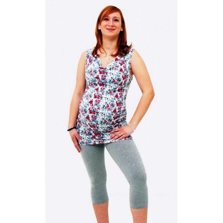 Tehotenské legíny 3 4 sivé - Mamimodi.sk 6189874116