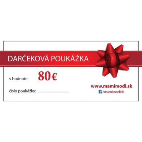 80$ In EUR