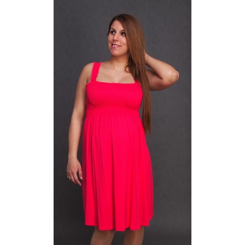 3e995c093060 Letné tehotenské šaty ružové  Letné tehotenské šaty ružové
