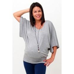 Tehotenské tričko na dojčenie