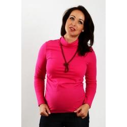 Tehotenský rolák ružový
