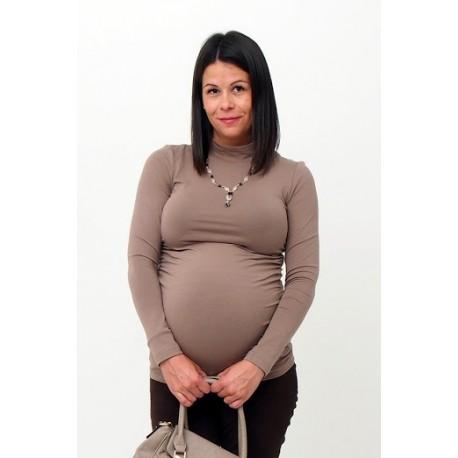 Tehotenský rolák hnedý