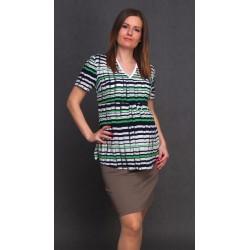 Tehotenská sukňa Dina tyrkys