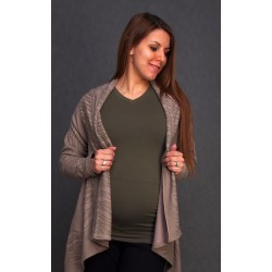 Tehotenský kardigan - tenký