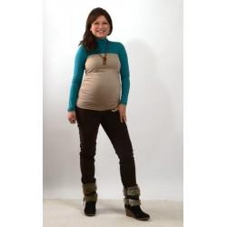 Tehotenský pás béžový