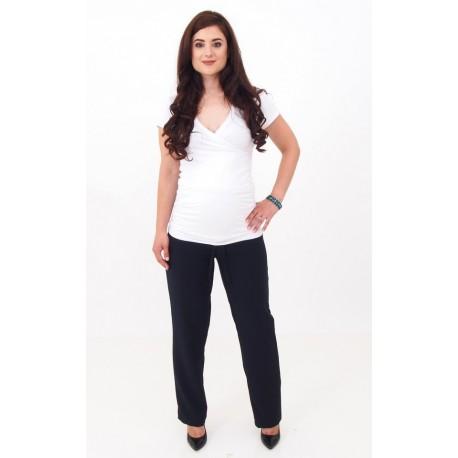 Tehotenské nohavice - tmavomodré