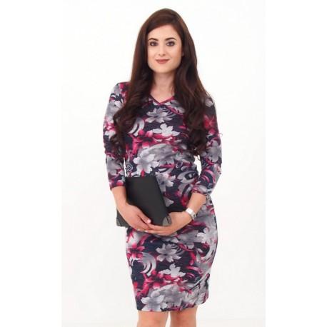 Pletené tehotenské šaty