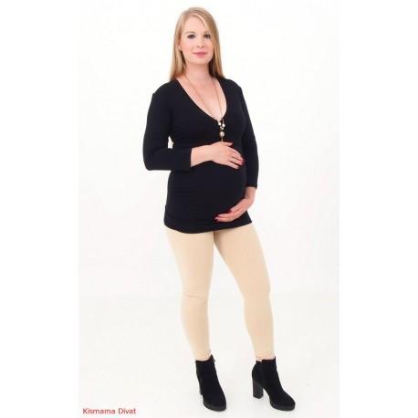 Tehotenské legíny béžové