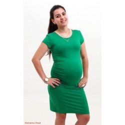 Zelené tehotenské šaty