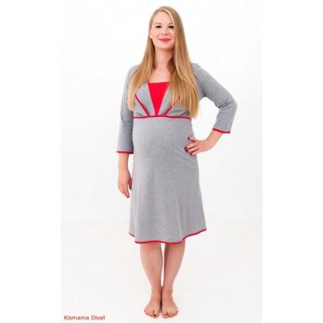 Nočná košela pre tehotné a dojčiace matky