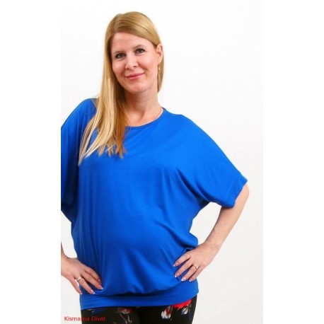 Tehotenská tunika - kráľovská modrá