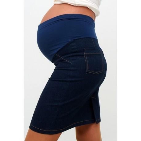 Tehotenská riflová sukňa Dina