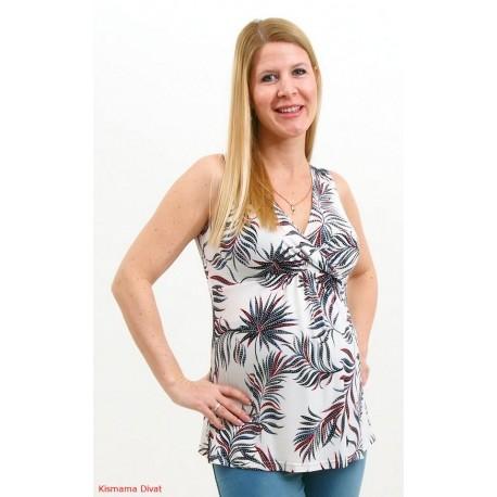 Tehotenské tričko bez rukávov Vanda
