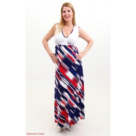 Tehotenské maxi šaty
