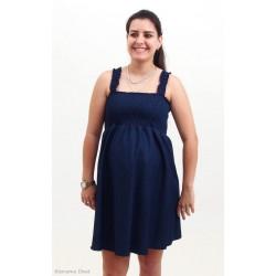 Tehotenské šaty - riflové