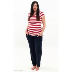 Tehotenské tepláky tmavomodré
