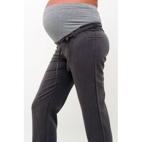 Tehotenské nohavice sivé