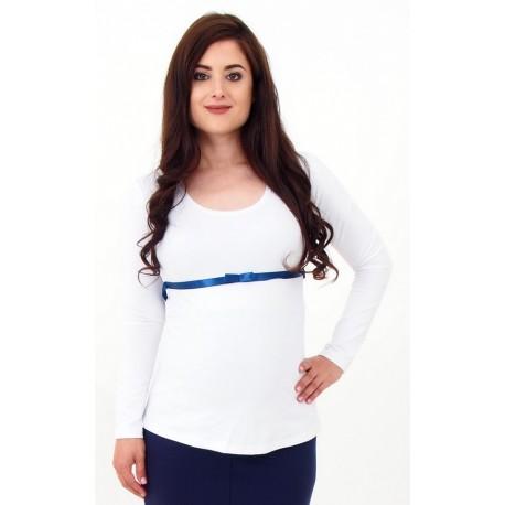 Tehotenské tričko so stuhou
