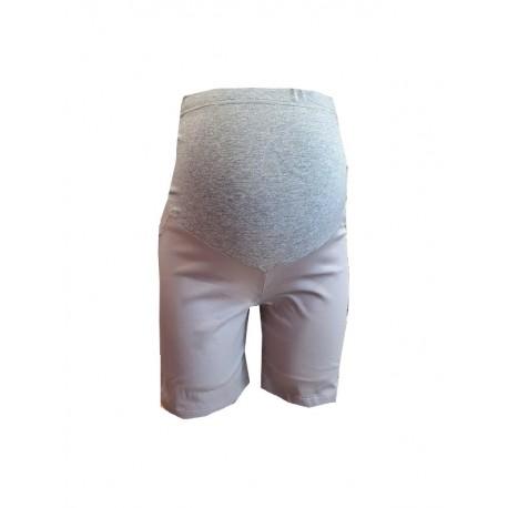 Tehotenské šortky - krémové