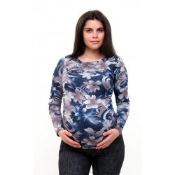 Pletené tehotenské tričko