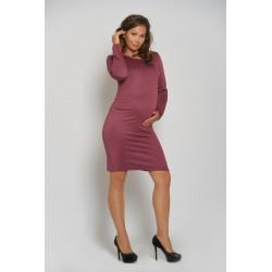 Tehotenské šaty - slézové