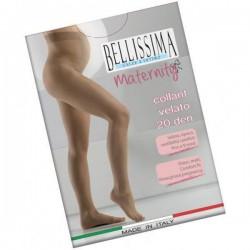 Tehotenské silonky Belissima Maternity - béžové