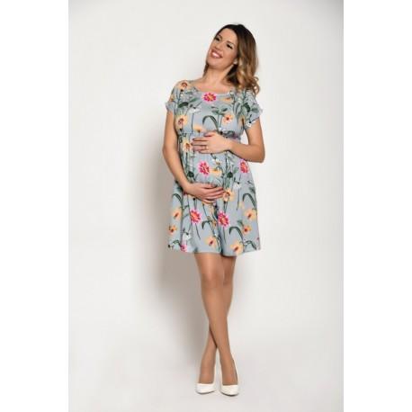 Letné tehotenské šaty