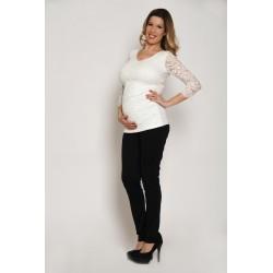 Tehotenské nohavice - čierne
