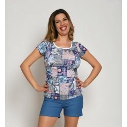 Tehotenské tričko s krátkym rukávom