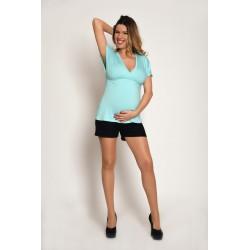 Tehotenské šortky - čierne