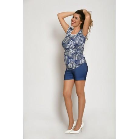Tehotenské riflové šortky