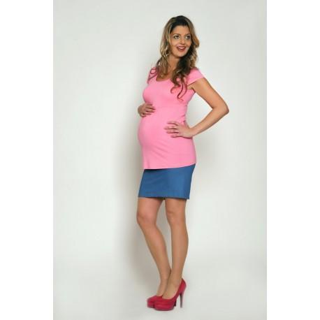 Tehotenská riflová sukňa