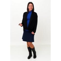 Tehotenský sveter dlhý