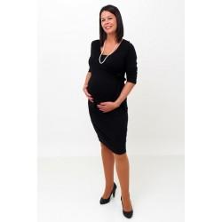 Elegantné šaty čierne
