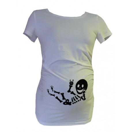 Tehotenské tričko s vtipnou potlačou