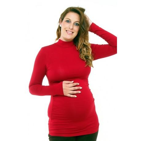 Tehotenský rolák vínový