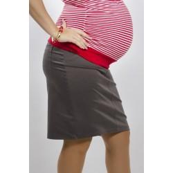 Tehotenská sukňa Dina sivá