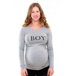 Tehotenské tričko s potlačou It´s a Boy!