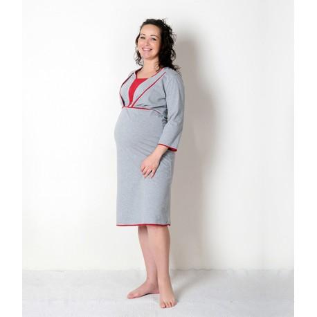 Nočná košeľa pre tehotné a dojčiace ženy