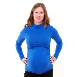 Tehotenský rolák modrý