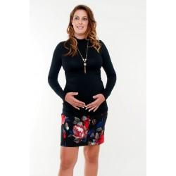 Tehotenský rolák čierny