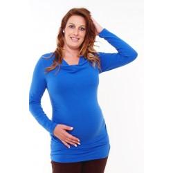 Tehotenské tunika modrá