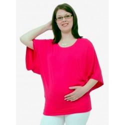 Tričko na dojčenie - ružové