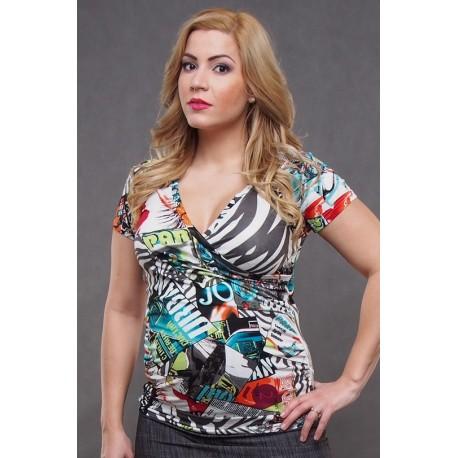 Tehotenské tričko - retro