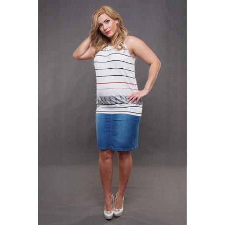 Tehotenská sukňa s vreckami
